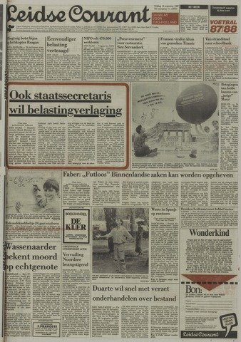 Leidse Courant 1987-08-14