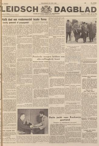 Leidsch Dagblad 1951-06-25