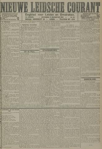 Nieuwe Leidsche Courant 1921-08-15