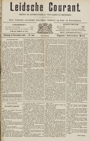 Leydse Courant 1885-11-10