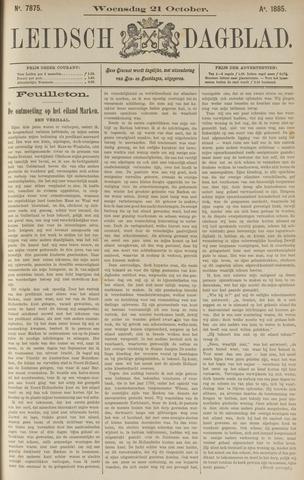 Leidsch Dagblad 1885-10-22