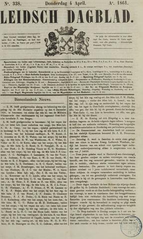 Leidsch Dagblad 1861-04-04