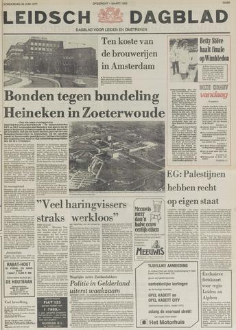 Leidsch Dagblad 1977-06-30