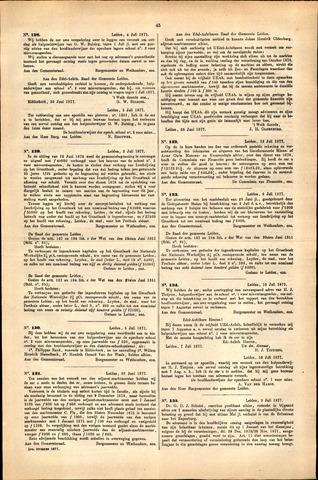 Handelingen van de Raad 1877-07-04