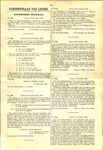 Handelingen van de Raad 1919-11-24