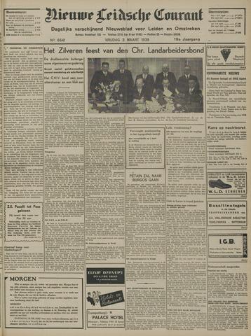 Nieuwe Leidsche Courant 1939-03-03
