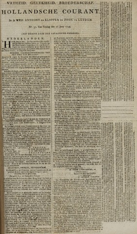 Leydse Courant 1795-06-26