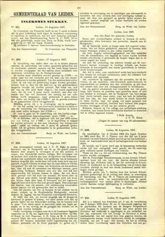 Handelingen van de Raad 1907-08-14