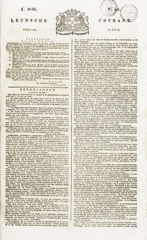 Leydse Courant 1841-07-16