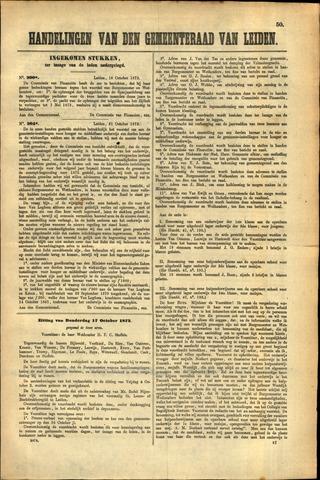 Handelingen van de Raad 1872-10-17