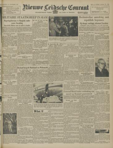 Nieuwe Leidsche Courant 1947-11-10