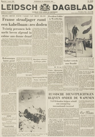 Leidsch Dagblad 1961-08-30
