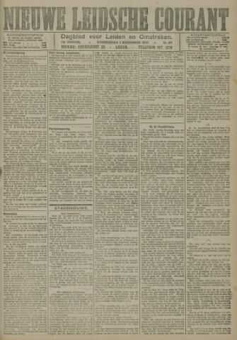 Nieuwe Leidsche Courant 1921-12-01