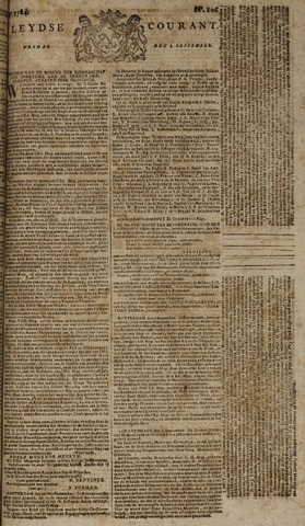 Leydse Courant 1784-09-03