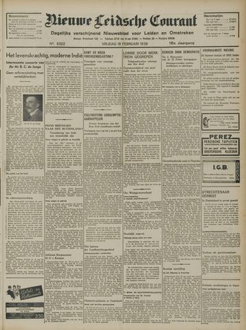 Nieuwe Leidsche Courant 1938-02-18
