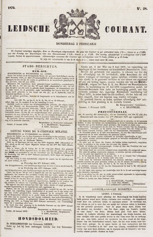Leydse Courant 1876-02-03