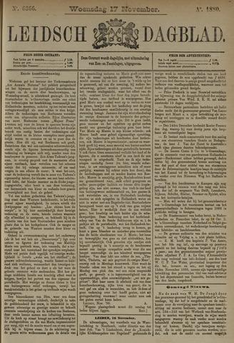 Leidsch Dagblad 1880-11-17