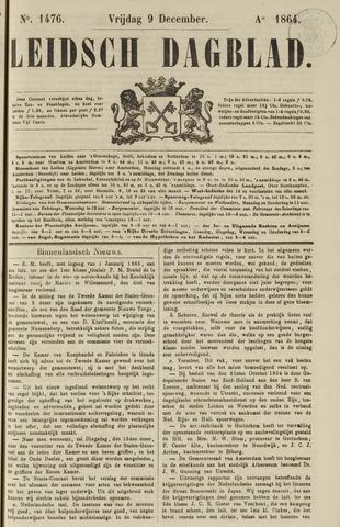 Leidsch Dagblad 1864-12-09