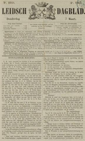 Leidsch Dagblad 1867-03-07