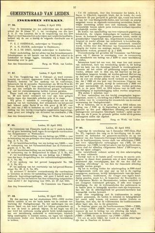 Handelingen van de Raad 1912-04-06