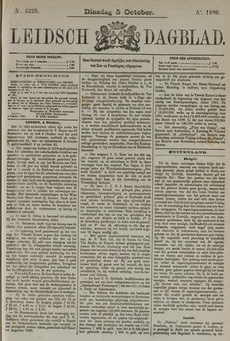 Leidsch Dagblad 1880-10-05