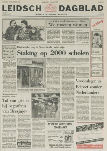 Leidsch Dagblad 1982-11-15