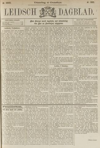 Leidsch Dagblad 1892-10-04