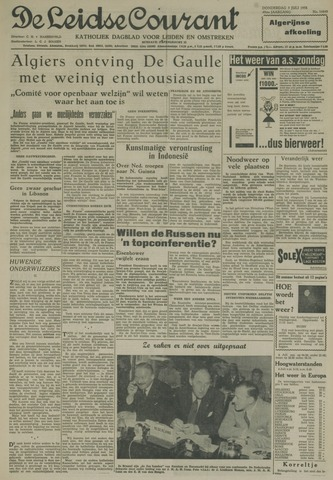 Leidse Courant 1958-07-03