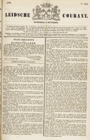 Leydse Courant 1872-09-05