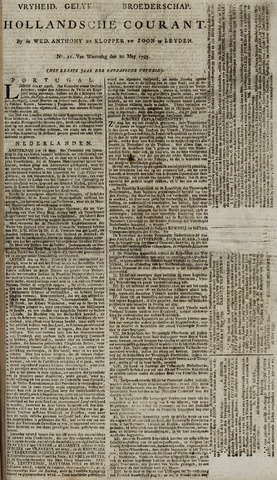 Leydse Courant 1795-05-20