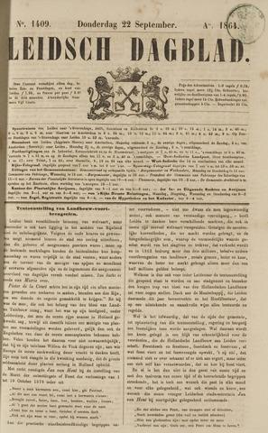 Leidsch Dagblad 1864-09-22