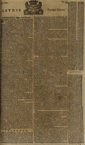 Leydse Courant 1751-03-19