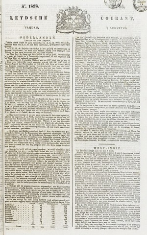 Leydse Courant 1838-08-03