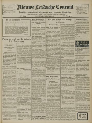 Nieuwe Leidsche Courant 1938-08-29