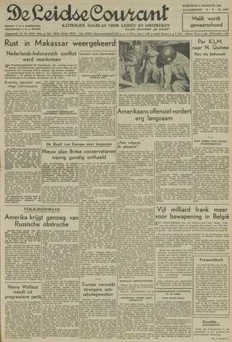 Leidse Courant 1950-08-09