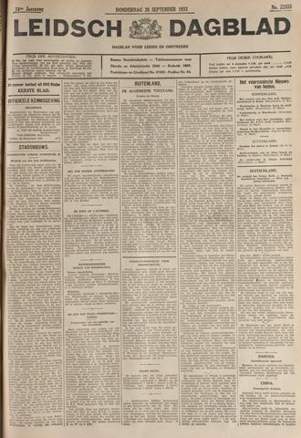 Leidsch Dagblad 1933-09-28