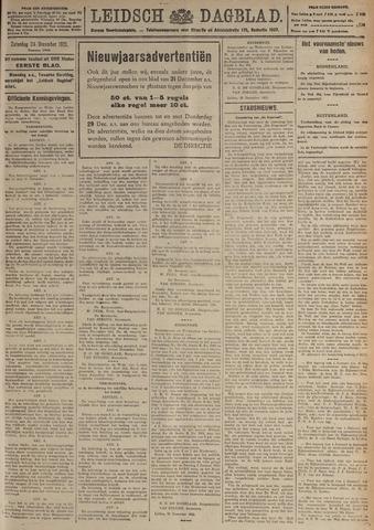 Leidsch Dagblad 1921-12-24