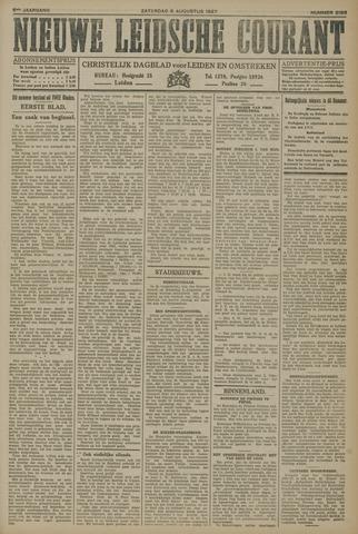 Nieuwe Leidsche Courant 1927-08-06