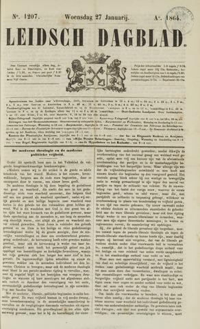 Leidsch Dagblad 1864-01-27