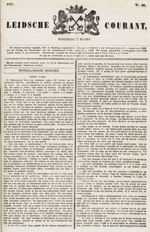 Leydse Courant 1877-03-07