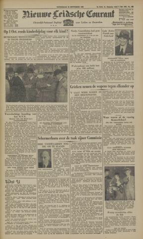 Nieuwe Leidsche Courant 1946-09-26