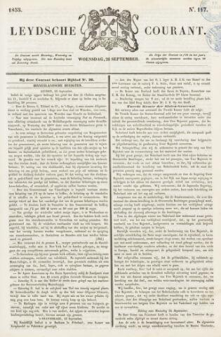 Leydse Courant 1855-09-26