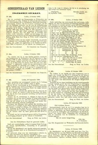 Handelingen van de Raad 1900-10-02