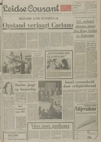 Leidse Courant 1974-04-25