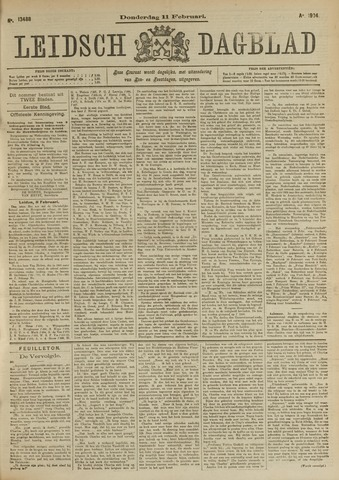 Leidsch Dagblad 1904-02-11