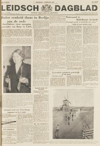 Leidsch Dagblad 1954-02-01