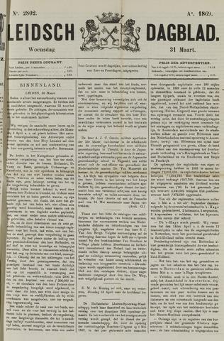 Leidsch Dagblad 1869-03-31