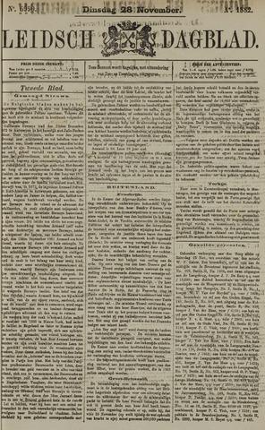 Leidsch Dagblad 1882-11-28