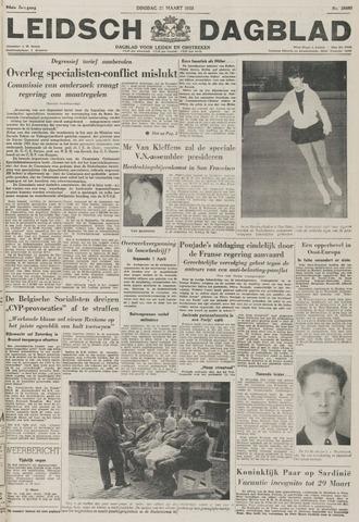 Leidsch Dagblad 1955-03-22