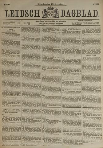 Leidsch Dagblad 1896-10-15
